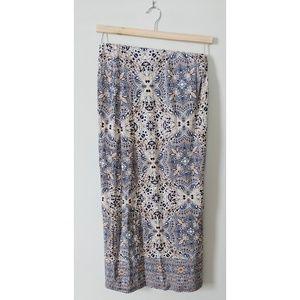 Artisan NY Foldover Maxi Skirt
